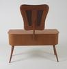 Toilettebord med stol. 1940/50-tal.