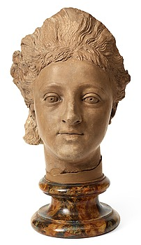 "352. Johan Tobias Sergel, ""Drottning Hedvig Elisabeth Charlotta"" (1759-1818) (Queen Hedvig Elisabeth Charlotta)."