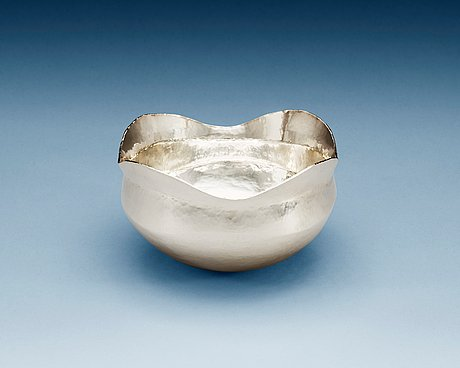 A jan lundgren sterling bowl, stockholm 2001.