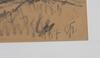 Johansson-thor, emil. kolteckning, sign o dat 1917.