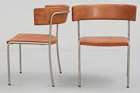 Erik karlström, stolar, 1 par, ca 1965.