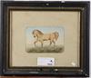 LarsÉn, fredric, ett par, akvareller, sign. o dat. 1883.