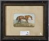 LarsÉn, fredric, ett par, akvareller, sign. o dat. 1883 resp. 1882.