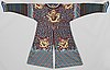 Costume, woven and embroidered. china the 1930's.