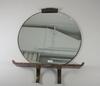 Spegel med konsol, art decostil, 1940-tal.