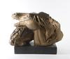 Michew edelstam, natascha, tillskriven. skulptur, brons, sign