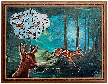 """411. Ernst Billgren, """"Skogsgläntan"""" (The Forest Glade)."""
