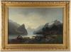 Bodom, erik, tillskriven. olja på duk, sign o dat 1851.