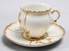 Kaffeservis, tot 24 delar, porslin, nyrokoko, sekelskiftet 1800/1900.