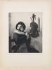 Parti litografiska tryck, ca 30 st, 1800-1900-tal.
