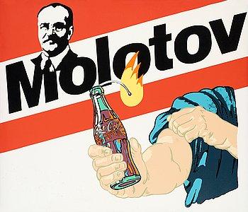 "420. Alexander Kosolapov, ""Molotov Cocktail""."