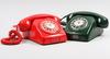 Telefoner, 2 st. lm ericsson