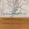 "Anshelm schultzberg, ""torsgatan i stockholm"" (torsgatan in stockholm)."