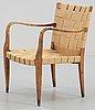 A bruno mathsson easy chair, firma karl mathsson ca 1931.