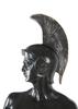 Skulptur, brons och sten, trojansk soldat, 1900-talets första hälft.