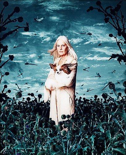 "Helena blomqvist, ""woman with dog"", 2005."