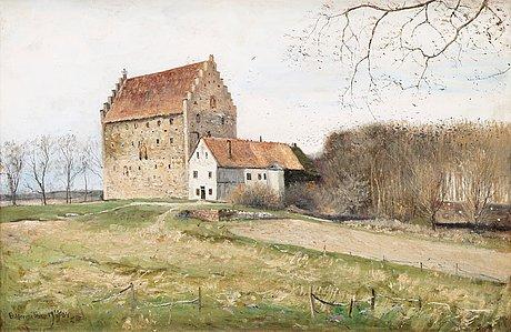 Olof hermelin, the medieval manor glimmingehus.