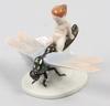 Figurin, porslin. rosenthal, a. caasmann.