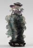 Urna med lock, glas, kina, 1900 tal