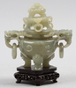 LockskÅl, av rökelsekartyp, sten, kina, 1900 tal