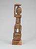 Fetish. wood. tellem/dogon tribe. mali mid - second half of the 19th century. height 30,5 cm.