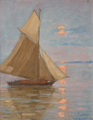 Edvard westman, the boat.