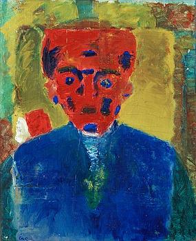 """44. Åke Göransson, """"Rött ansikte"""" (With Red Face)."""