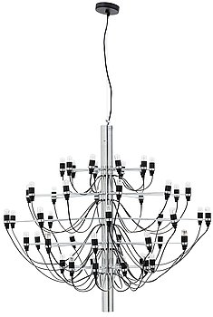 106. A Gino Sarfatti hanging lamp modell 2097/50, Flos Italy.