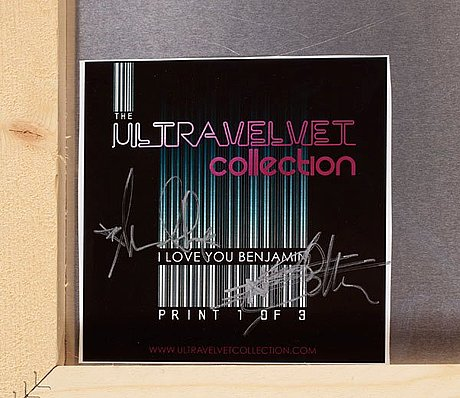 "The ultravelvet collection, ""i love you benjamin (from the ultravelvet collection)""."