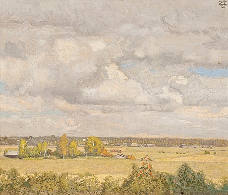 Antti favén, late summer landscape.