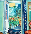 HILDING LINNQVIST, The Terrace. Signed HL. ...