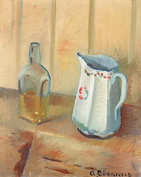 """87A. Åke Göransson, """"Flaska och tillbringare"""" (Bottle and Jug)."""
