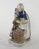 Figurin, porslin, royal copenhagen, sign chr th.