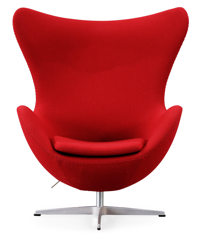 "An Arne Jacobsen ""Egg Chair"" Fritz Hansen Denmark 1998"