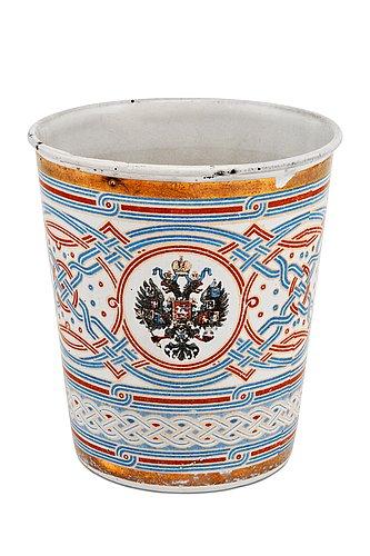 A coronation beaker.