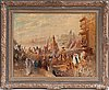 Konstantin egorovich makovsky, religious procession in cairo.