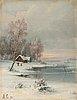 Aleksei kondratevich savrasov, talvinen ranta.