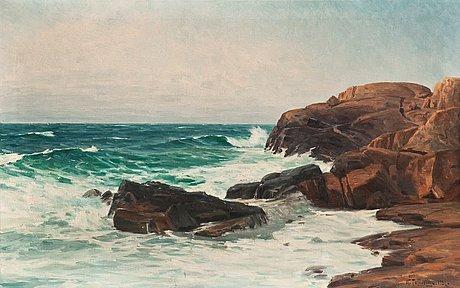 "Woldemar toppelius, woldemar toppelius, ""surf waves""."