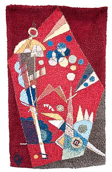 376. WASSILY KANDINSKY After, A RUG.