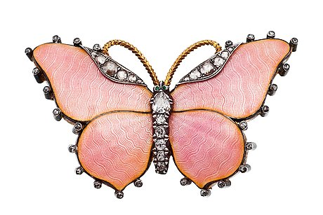 Butterfly brooch.