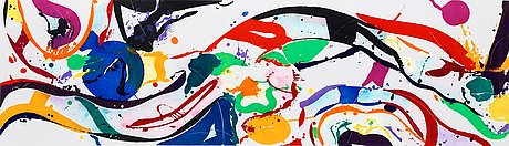 Sam francis, untitled.