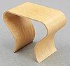 A caroline schlyter birch plywood stool 'tip',