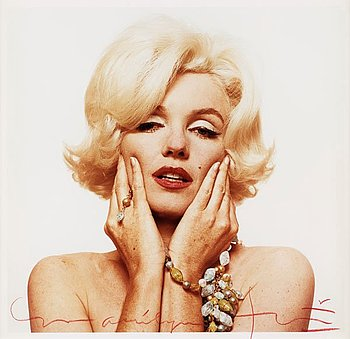 "321. Bert Stern, ""Marilyn Monroe""."