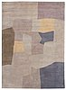 Carpet. tufted. 254 x 186,5 cm. design by serge poliakoff, france, in the 1970's.