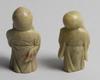 Figuriner, 2 st, sten, ostasien, 1900-tal.