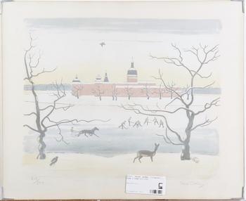 JOLIN, EINAR, litografi, sign o numr 213/250.