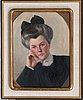 Hugo simberg, portrait of a lady.