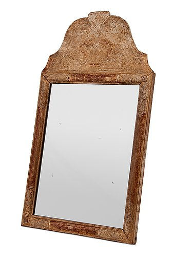 Table mirror.