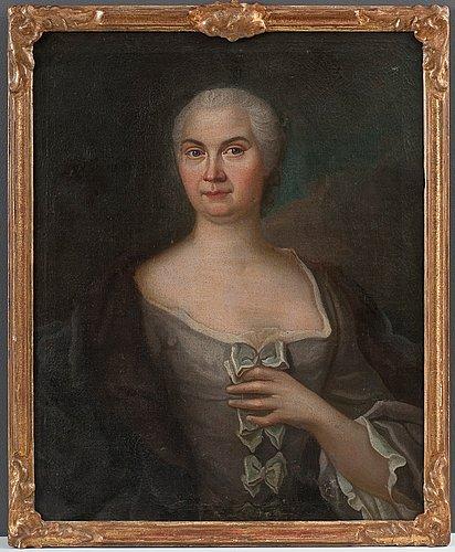 Johan stålbom, portrait of a woman.