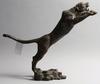 Skulptur, metall, orientalisk.